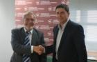 Firma convenio colegio ingenieros de caminos