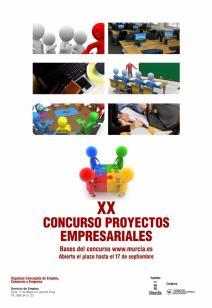 La Fundación Universidad Empresa colabora en el XX Concurso de Proyectos Empresariales del Ayuntamiento de Murcia