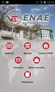 Nueva ENAE Business School App para Smartphone y Tablet