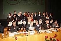 Entrega de diplomas ENAE 2009/2010