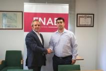 Firma de acuerdo entre ENAE y FEJERM