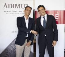 Firma de un convenio de colaboración entre ENAE Business School y La Asociación de Directivos de la Región de Murcia (ADIMUR)