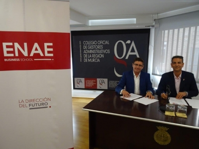 Firma convenio ENAE y Colegio Gestores Administrativos