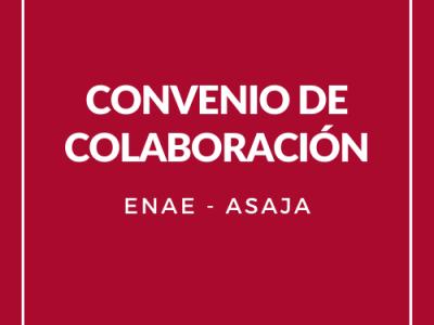 ENAE y ASAJA firman un acuerdo de colaboración