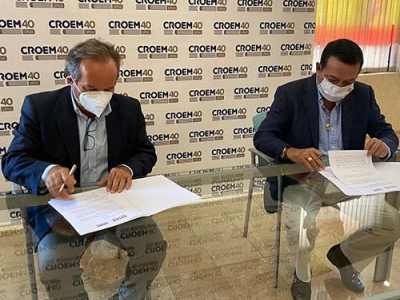 ENAE y CROEM firman un acuerdo para promover la formación y la investigación empresarial