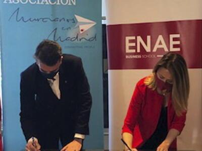 Nuevo convenio de colaboración entre ENAE y ASMUMAD