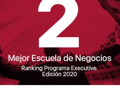 Financial Magazine sitúa a ENAE Business School entre las 20 mejores escuelas de negocio en el Ranking Programa Executive 2020