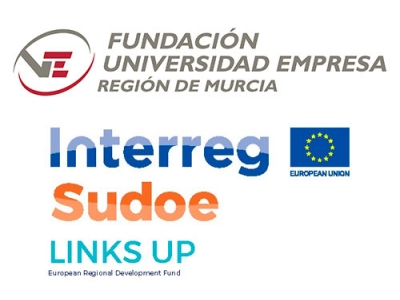Fundación Universidad Empresa, Interreg, Sudoe, Links up y ENAE apoyando las Startups