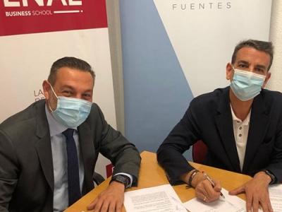 Convenio ENAE y despacho Grimaldi Gallego Fuentes