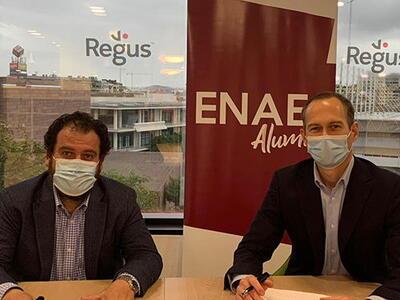 ENAE Alumni y Regus firman convenio de colaboración
