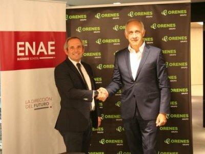 ENAE y Orenes firman un convenio de colaboración