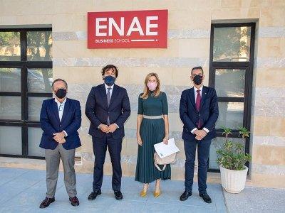 Visita del Consejero de Empleo a ENAE