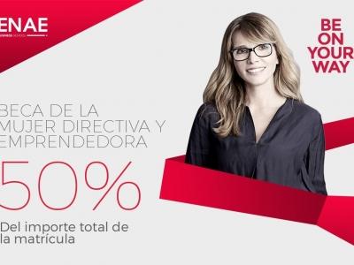 Beca Enae a la Mujer Directiva y Emprendedora