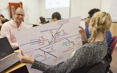 La Mejor Escuela de Negocios del Sureste Español · +52 Nacionalidades · Bolsa de empleo · Becas · Networking · Prácticas en empresas · Apoyo a Emprendedores