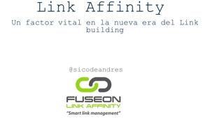 La afinidad, un factor vital en la nueva era del Linkbuilding