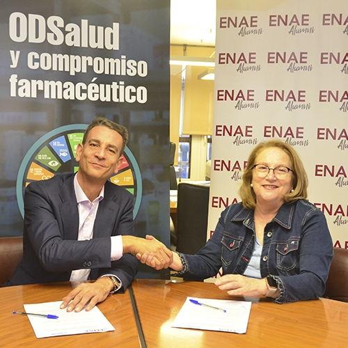 Convenio de colaboración entre el COFRM y ENAE
