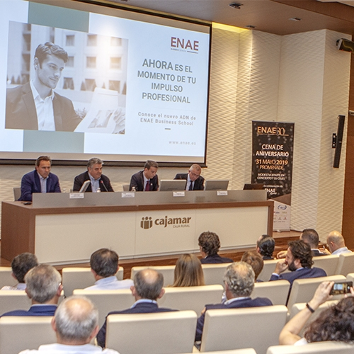 Conferencia de Dimas Gimeno en ENAE Business School