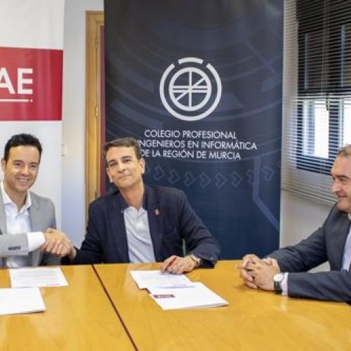 foto firma del convenio CII y ENAE