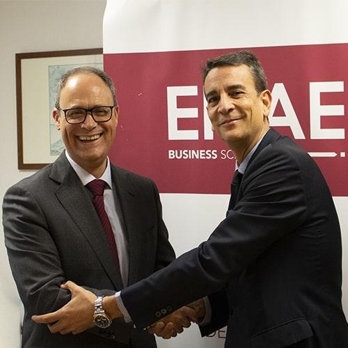 Convenio Caja Rural Central y ENAE Business School
