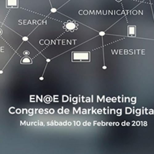 Logo congreso de Marketing Online EN@E Digital Meeting II edición