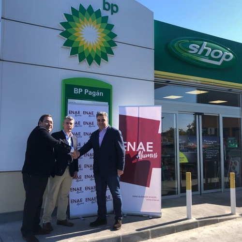 Firma de Convenio ENAE Alumni y BP Oil