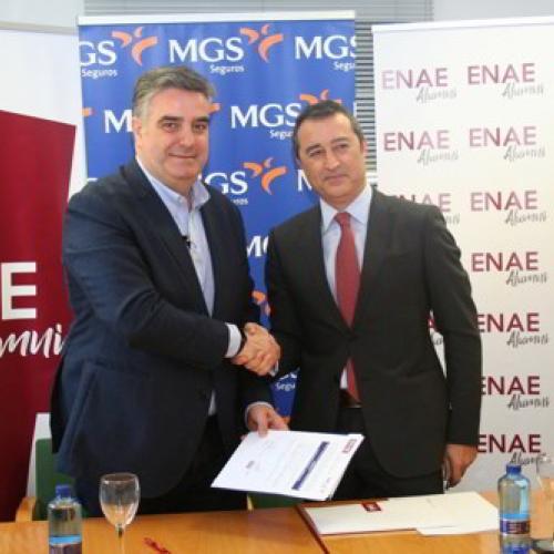 ENAE y MGS Seguros firman convenio